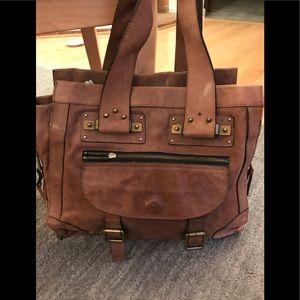 Chloe leather satchel
